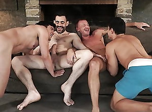 Bareback (Gay);Big Cock (Gay);Blowjob (Gay);Group Sex (Gay);Hunk (Gay);Muscle (Gay);Old+Young (Gay);HD Videos;Anal (Gay) Two daddies fuck...