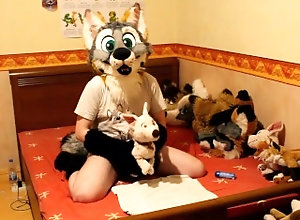 kink;masturbate;adult-toys;furry;fursuit;fursuiter;murrsuit;murrsuiter;humping-plushie;fleshlight;murrsuit-sex;fursuit-sex;fursuit-masturbation;moaning;fucking-plushie;pawing-off,Solo Male;Gay Cute fox having...