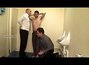 ass,threesome,gay,dad,rim,handsome,hot-guy,abuse,gay Daddy abuse...