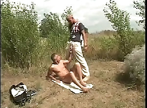 blonde,outdoor,blowjob,brunette,masturbation,voyeur,gay,gay Guy gets horny...