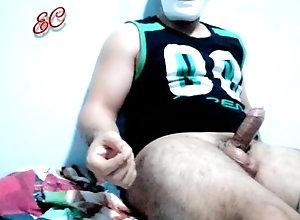 puta;perra;leche;corridas,Daddy;Latino;Fetish;Solo Male;Gay;Reality;Handjob;Cumshot Pensando en la...