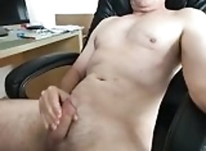 Amateur (Gay);Cum Tribute (Gay);Daddy (Gay);Masturbation (Gay);Webcam (Gay) cumming selfie...