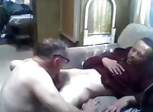 Amateur (Gay);Blowjob (Gay);Interracial (Gay);Old+Young (Gay);Webcam (Gay);Couple (Gay) Daddy sucks on cam