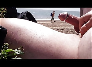 Beach (Gay);Outdoor (Gay);HD Gays Hard cock for the...