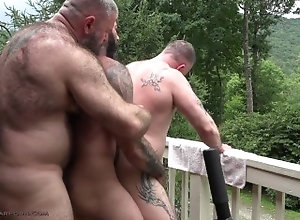 musclebearporn;big-cock;alexander-kristov;bareback,Bareback;Daddy;Big Dick;Gay;Bear Serb Cock