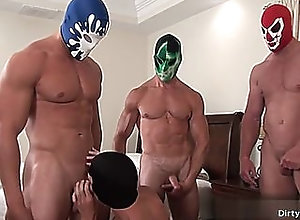 bareback,big cock,blowjob,bdsm,gay,group,masturbation,muscle,mask,gay muscle...
