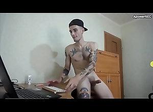 tattoo,webcam,gay,punheta,punhetando,pintudo,pintao,tatuado,socando-uma,socando-punheta,socando-o-pinto,magrelo-tatuado,mlk-de-bone,macho-punheta,gay mlk tatuado...