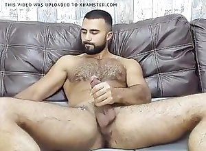 Bear (Gay);Hunk (Gay);Masturbation (Gay);Muscle (Gay);60 FPS (Gay) BEARDED WANKER...
