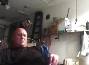 Man (Gay) Fucking in garage
