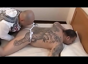 cock,tattoo,chubby,fat,gay,japanese,nipple,gay-sex,gay 極道