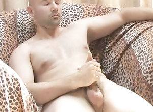 shaved;head;solo;solo;male;masturbating;masturbated;couch;uncut;shaved;amateur;jerking;off;wanking;straight,Solo Male;Gay;Amateur Solo bald guy...