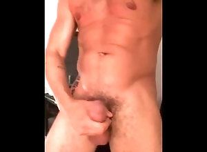 jerking-off-public;cum;gay;gay-guy;naked;strip;nude;tan;guy;muscle,Daddy;Muscle;Solo Male;Big Dick;Gay;Creampie;Cumshot Horny Jerking Off...