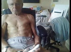 Amateur (Gay);Daddy (Gay);Masturbation (Gay);Skinny (Gay) skinny daddy