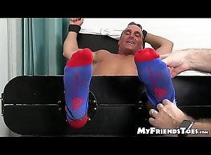 mature,socks,gay,bound,feet,hunk,toes,soles,tickling,tied-up,foot-fetish,bare-feet,feet-tickling,myfriendstoes,gay Mature hunk...