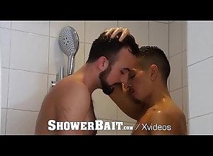 anal,cumshot,blowjob,anal-sex,gay-sex,gay-porn,shower-sex,mason-lear,beau-taylor,gay Shower Bait Rough...