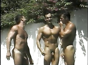 Group Sex (Gay);Hunk (Gay);Interracial (Gay);Muscle (Gay) The Pool