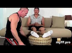 hardcore,blowjob,fetish,gay,footjob,gay Dressed foot...