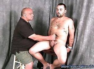 bareback,naked,brunette,hairy,handjob,masturbation,bald,tied up,fisting,gay Shawn S Stop And...