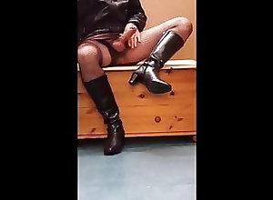 Big Cock (Gay);Crossdresser (Gay);Masturbation (Gay);HD Videos Fishnets and...