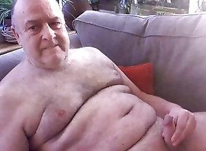 Cum Tribute (Gay);Handjob (Gay);Masturbation (Gay) grandpa cum on...