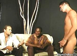 big cock,blowjob,interracial,hardcore,black,ebony,gay,threesome Handsome guy...