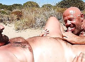 Beach (Gay);Bear (Gay);Blowjob (Gay);Outdoor (Gay);HD Videos;Hot Gay (Gay);Gay Bear (Gay) Two hot sexy...