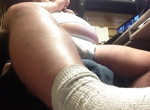 kink;fat;pipe;bear;feet,Solo Male;Gay super low angle clip