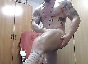 Bear (Gay);Big Cock (Gay);Daddy (Gay);Handjob (Gay);Outdoor (Gay);Striptease (Gay);Voyeur (Gay);Gay Cock (Gay);HD Videos Oiling my cock
