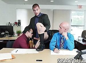 Group Sex;Big Cock (Gay);Blowjob (Gay);HD Videos;Anal (Gay) Three coworkers...