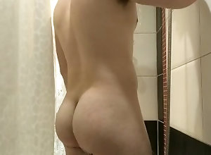 fatass;21yo;guy;shower,Solo Male;Gay 21yo guy with...