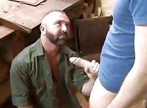 Bear (Gay);Big Cock (Gay);Blowjob (Gay);Daddy (Gay) Trouble