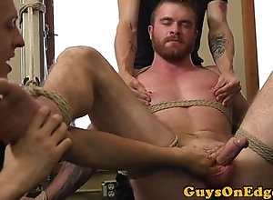 handjob,anal,bondage,feet,gay,handjob,threesome Muscle bdsm sub...
